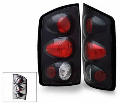 Headlights & Tail Lights - Led Tail Lights - 4CarOption - Dodge Ram 4CarOption Altezza Taillights - XT-TLZ-RAM0204T5BK-6