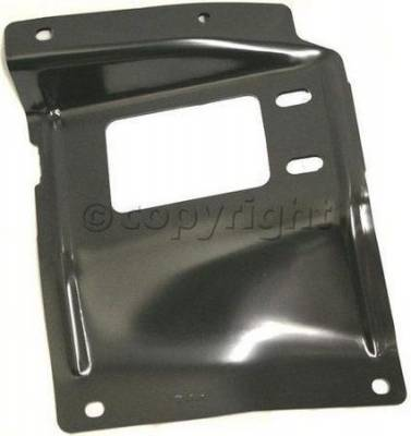 Factory Oem Auto Parts - Original OEM Bumpers - Custom - FRONT BUMPER BRACKET LH (DRIVER SIDE)