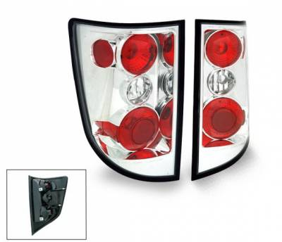 Headlights & Tail Lights - Tail Lights - 4CarOption - Honda Ridgeline 4CarOption Altezza Taillights - XT-TLZ-RGL0506-6