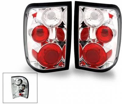 Headlights & Tail Lights - LED Tail Lights - 4CarOption - Ford Ranger 4CarOption Altezza Taillights - XT-TLZ-RGR0104-6