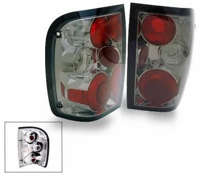 Headlights & Tail Lights - LED Tail Lights - 4CarOption - Ford Ranger 4CarOption Altezza Taillights - XT-TLZ-RGR0104SM-6