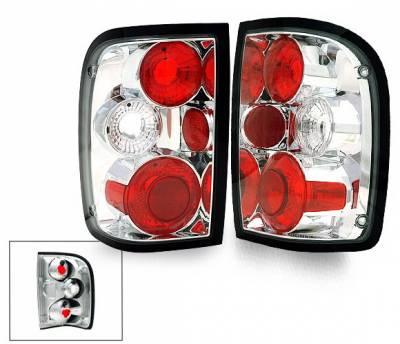 Headlights & Tail Lights - LED Tail Lights - 4CarOption - Ford Ranger 4CarOption Altezza Taillights - XT-TLZ-RGR9301-6