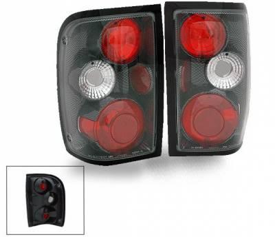 Headlights & Tail Lights - LED Tail Lights - 4CarOption - Ford Ranger 4CarOption Altezza Taillights - XT-TLZ-RGR9301CB-6