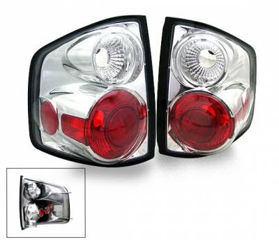 Headlights & Tail Lights - LED Tail Lights - 4CarOption - Chevrolet S10 4CarOption Altezza Taillights - XT-TLZ-S109400-6