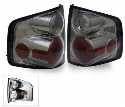 Headlights & Tail Lights - LED Tail Lights - 4CarOption - Chevrolet S10 4CarOption Altezza Taillights - XT-TLZ-S109400SM-6