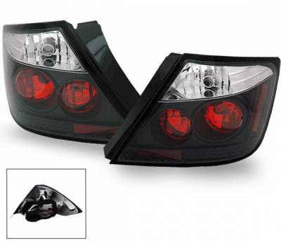 Headlights & Tail Lights - Led Tail Lights - 4CarOption - Scion tC 4CarOption Altezza Taillights - XT-TLZ-TC0407BK-6
