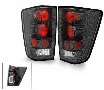 Headlights & Tail Lights - Led Tail Lights - 4CarOption - Nissan Titan 4CarOption Altezza Taillights - XT-TLZ-TTN0406CB-6
