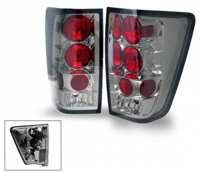 Headlights & Tail Lights - Led Tail Lights - 4CarOption - Nissan Titan 4CarOption Altezza Taillights - XT-TLZ-TTN0406SM-6