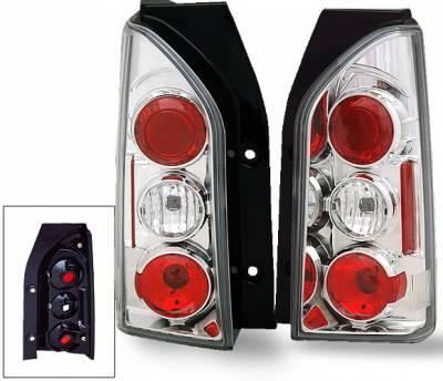 Headlights & Tail Lights - LED Tail Lights - 4CarOption - Nissan Xterra 4CarOption Altezza Taillights - XT-TLZ-XTR0506-6