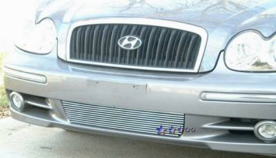 Grilles - Custom Fit Grilles - APS - Hyundai Sonata APS Billet Grille - Bumper - Aluminum - Y66435A