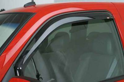 Accessories - Wind Deflectors - Wade - Wade Smoke In-Channel Wind Deflector 2PC - 88477