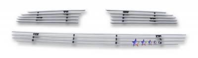 Grilles - Custom Fit Grilles - APS - Hyundai Accent APS Grille - Y66679A