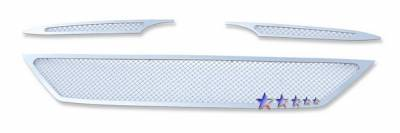 Grilles - Custom Fit Grilles - APS - Hyundai Tucson APS Wire Mesh Grille - Y76756T
