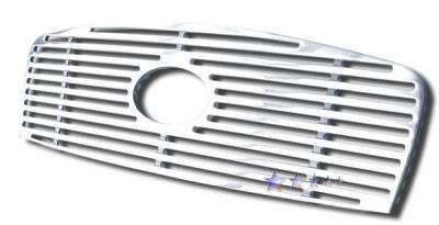 Grilles - Custom Fit Grilles - APS - Hyundai Sonata APS CNC Grille - Upper - Aluminum - Y96434A