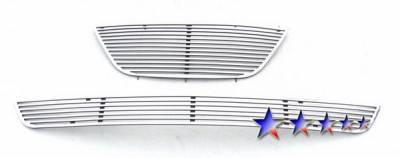 Grilles - Custom Fit Grilles - APS - Hyundai Sonata APS CNC Perimeter Grille - Y97217A