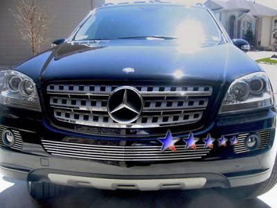 APS - Mercedes-Benz ML APS Billet Grille - Bumper - Aluminum - Z65512A - Image 1