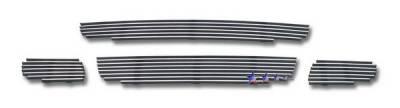 Grilles - Custom Fit Grilles - APS - Smart ForTwo APS Billet Grille - Upper & Bumper - Aluminum - Z66601A