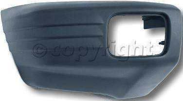 Factory OEM Auto Parts - Original OEM Bumpers - Custom - FRONT BUMPER END RH (PASSENGER SIDE)