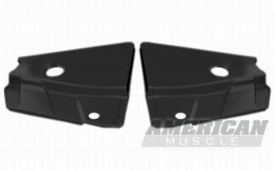 Accessories - Engine Dress Up - AM Custom - Ford Mustang Radiator Extension Covers