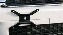 Accessories - License Plate Frames - Aries - Mini Cooper Aries License Plate Relocation Bracket