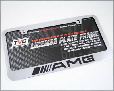 AMG - AMG SS Plate Frame