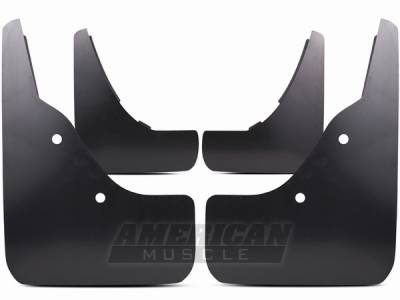 Accessories - Exterior Accessories - AM Custom - Ford Mustang Molded Mud Flaps