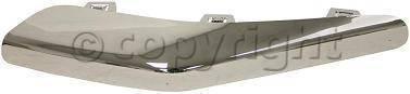 Factory OEM Auto Parts - Original OEM Bumpers - Custom - REAR BUMPER MOLDING RH (PASSENGER SIDE)