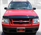 Accessories - Hood Protectors - AVS - Ford Explorer AVS Bugflector II Hood Shield - Smoke