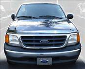 Accessories - Hood Protectors - AVS - Ford F150 AVS Hood Shield - Chrome