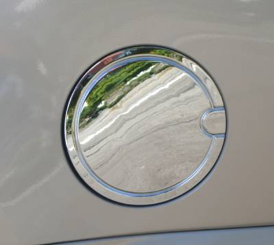 Accessories - Fuel Tank Covers - Aries - Cadillac Escalade Aries Chrome Fuel Lid with Hinge