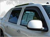 Accessories - Wind Deflectors - AVS - Chevrolet Silverado AVS In-Channel Ventvisor Deflector - 4PC