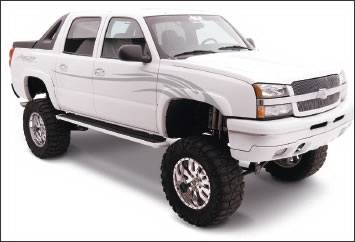 Avalanche - Fender Flares - ATS Design - Chevrolet Avalanche ATS Fender Flares