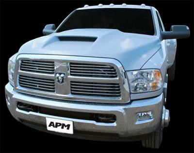 Ram - Hoods - APM - Dodge Ram APM Ram Air Functional Power Hood