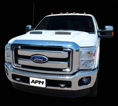 F250 - Hoods - APM - Ford Superduty APM Ram Air Functional Power Hood