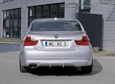 3 Series 4Dr - Rear Lip - AC Schnitzer - E90 Rear Apron