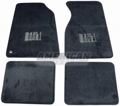 Car Interior - Floor Mats - ACC - Ford Mustang ACC Mach 1 Floor Mats