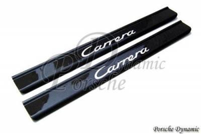 Car Interior - Interior Trim Kits - Custom - 996 Carrera Carbon Fiber Door Sills
