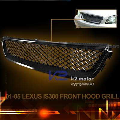 Grilles - Custom Fit Grilles - Altezza - ABS Altezza Hood Grille
