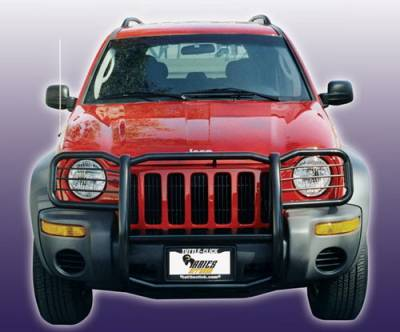 Grilles - Grille Guard - Aries - Jeep Cherokee Aries Grille Guard - 1PC