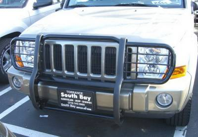 Grilles - Grille Guard - Aries - Jeep Commander Aries Grille Guard - 1PC