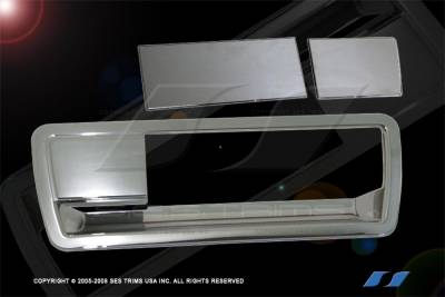 Suv Truck Accessories - Chrome Billet Door Handles - SES Trim - Nissan Armada SES Trim ABS Chrome Tailgate Handle - TG107
