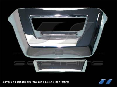 SES Trim - Chevrolet Avalanche SES Trim ABS Chrome Tailgate Handle - TG145