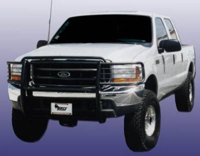 Grilles - Grille Guard - Aries - Ford F350 Superduty Aries Grille Guard - 1PC
