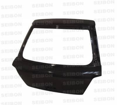 Impreza - Trunk Hatch - Seibon - Subaru Impreza Seibon OEM Style Carbon Fiber Trunk Lid - TL0205SBIMPHB