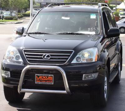 Grilles - Grille Guard - Aries - Lexus GX Aries Sport Bar - Stainless Steel
