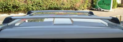 Grilles - Grille Guard - Aries - Hummer H3 Aries Roof Rack Cross Bars Silver
