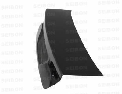 Civic 4Dr - Trunk Hatch - Seibon - Honda Civic 4DR Seibon OEM Style Carbon Fiber Trunk Lid - TL0607HDCV4D