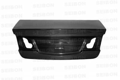 Civic 4Dr - Trunk Hatch - Seibon - Honda Civic 4DR Seibon OEM Style Carbon Fiber Trunk Lid - TL0607HDCV4DJ