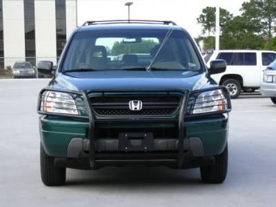 Grilles - Grille Guard - Aries - Honda Pilot Aries Grille Guard - 1PC