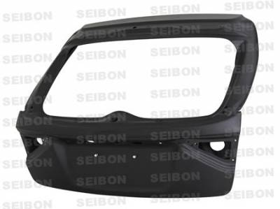 WRX - Trunk Hatch - Seibon - Subaru WRX Seibon OEM Style Dry Carbon Fiber Trunk - TL0809SBIMPHB-DRY